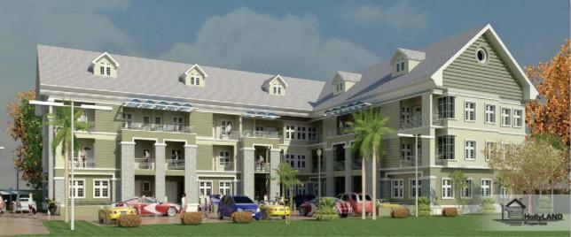 Terraced House in Katampe, Abuja